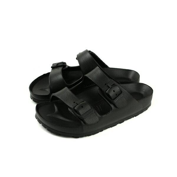 Airwalk拖鞋勃肯鞋童鞋黑色中童A753220120no004