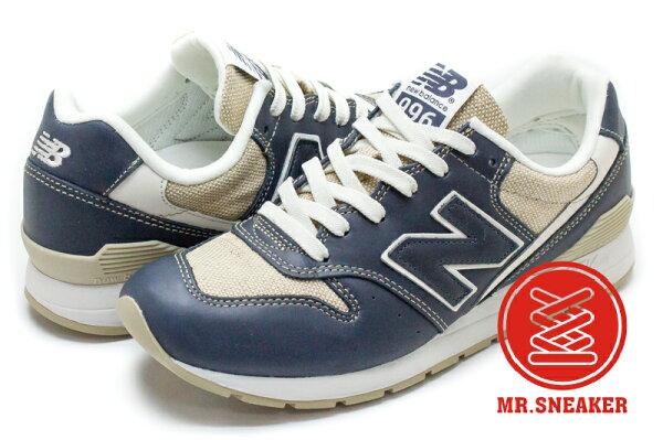 Mr. Sneaker:☆Mr.Sneaker☆NEWBALANCEMRL996JO996亞麻深藍男女段【單筆消費滿1000元全會員結帳輸入序號『CNY100』↘折100