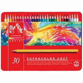 【永昌文具】 Caran d Ache 瑞士卡塔尔 3888.530 Supracolor 系列 专家级 30色 水性彩色铅笔 限定版 /盒