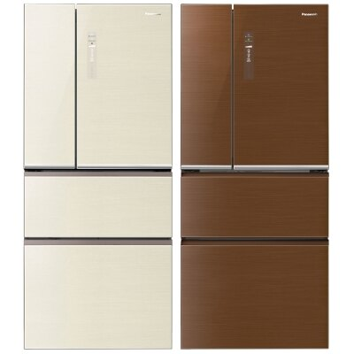 Panasonic國際牌 610L 四門電冰箱 保鮮淨化科技 雙層蔬果保鮮 NR-D618NHG-T(翡翠棕)