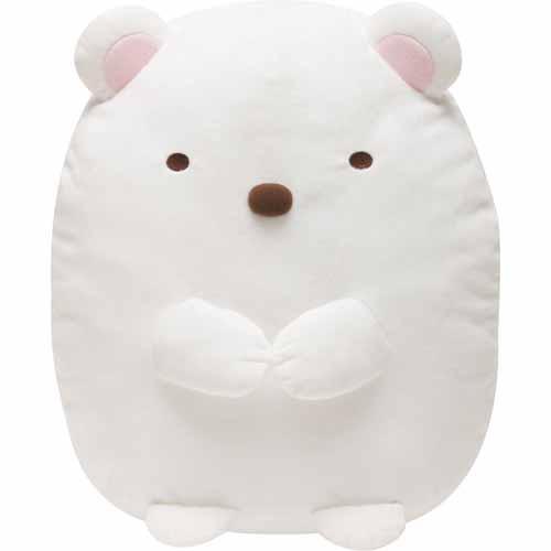 角落生物白熊絨毛玩具L號719-786