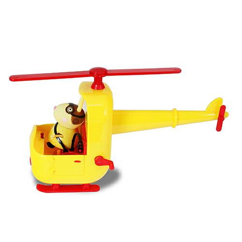 *美馨兒* 英國Peppa Pig 粉紅豬小妹-兔小姐的直升機 674元 3