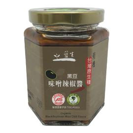 有機 原生種黑豆味噌辣椒醬
