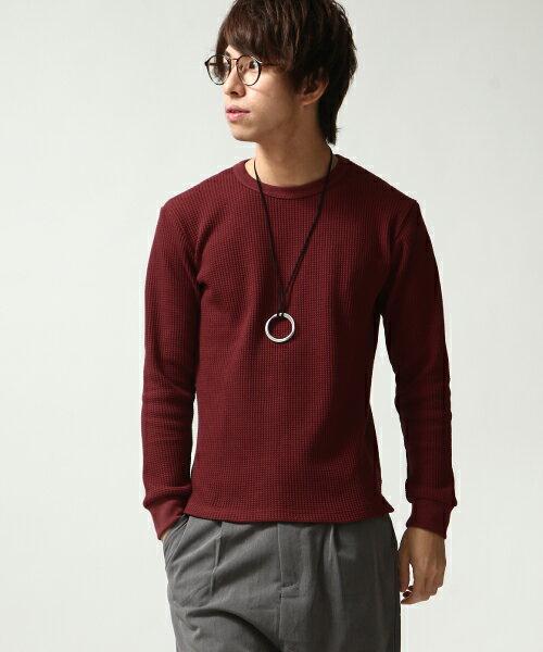 長袖T恤 WINE