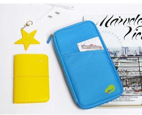 ♚MY COLOR♚韓版長款多功能護照包 證件包 短款護照夾 收納袋 旅遊收納 名片夾【Y18】