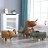《麗亞》淺棕大象 動物 椅凳 矮凳 穿鞋凳 腳凳 造型椅 兒童椅 四腳凳 牛 河馬 大象 三色可選 !新生活家具! 樂天雙12 2