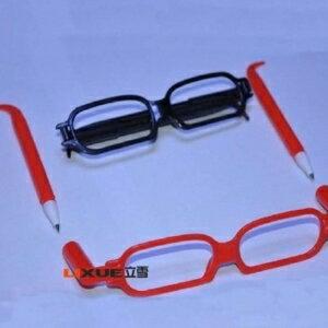 美麗大街【104071602】創意眼鏡造型筆(不挑款)