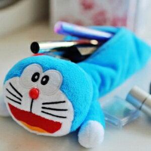 美麗大街【104080822】哆啦A夢小叮噹趴姿造型筆袋 文具袋