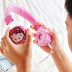 美麗大街~104100113~三麗鷗可愛 Hello Kitty 耳罩式耳機 ~  好康折