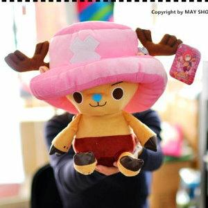 衫皇衫家【S02013112】正版授權 卡通喬巴造型玩偶