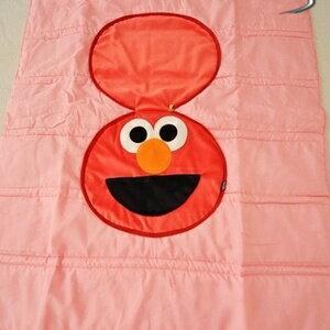 美麗大街【S101061101】 芝麻街ELMO造型涼被 抱枕 枕頭 被子