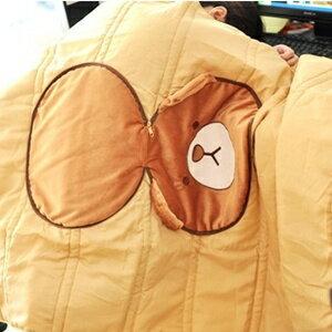 美麗大街【S101081513】熊大造型涼被 被子 抱枕 枕頭 靠枕