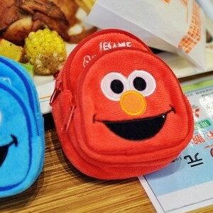 美麗大街【S101082707】可愛ELMO迷你背包造型零錢萬用包