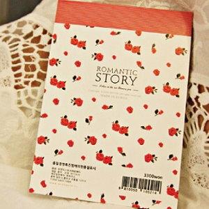 美麗大街【BFF06E2E9】浪漫故事紅玫瑰便簽紙