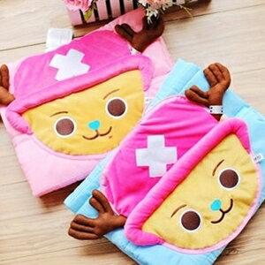 美麗大街【S102040807】喬巴造型兩用抱枕涼被