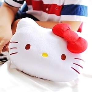 美麗大街【S102050206】HELLO KITTY 大頭造型小抱枕