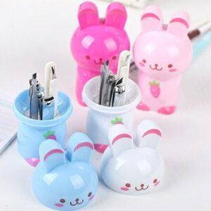 美麗大街【BFC19E3E12】可愛兔子造型美甲修容工具六件套組