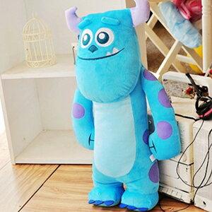 美麗大街【1020802101】18吋怪獸電力公司藍色毛怪站姿長型造型抱枕