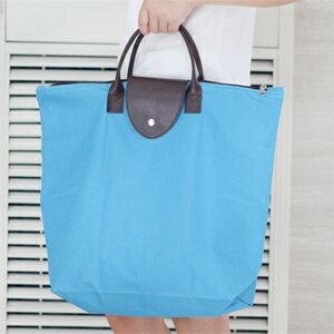 美麗大街【BFO10E5E22】600D牛津布可折疊購物袋