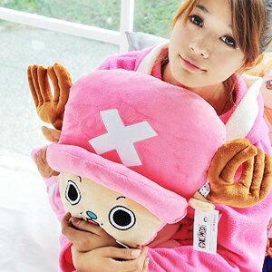 美麗大街【102102625】海賊王航海王喬巴18吋大頭造型玩偶抱枕