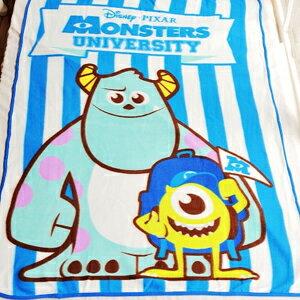 美麗大街~102111209~怪獸大學之好朋友刷毛毯子