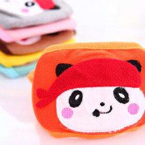 美麗大街【BFE31E2E7】可愛卡通熊貓款雙層保暖防塵兒童口罩