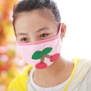 美麗大街【BFK69EA】可愛卡通櫻桃冬季保暖防塵口罩