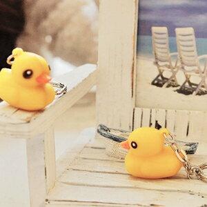 美麗大街【102112926】黃色小鴨迷你款鑰匙圈