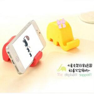 美麗大街【BFM13E4E18EK42】大象造型多功能手機座名片台