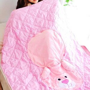 美麗大街【102122613】可愛小熊可收納涼被薄被枕頭抱枕