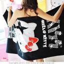 美麗大街【103021029】Hello Kitty可愛居家系列浴巾