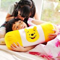 小熊維尼周邊商品推薦美麗大街【103032422】12吋可愛卡通小熊維尼圓筒型抱枕