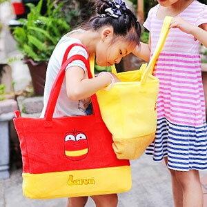 美麗大街【103050113】韓國可愛豆豆蟲手提側背兩用包