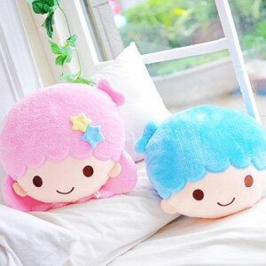 美麗大街【103080502】KIKILALA雙子星系列大頭12吋造型抱枕