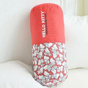 美麗大街【103110303】三麗鷗Hello Kitty 40週年紀念款圓筒抱枕