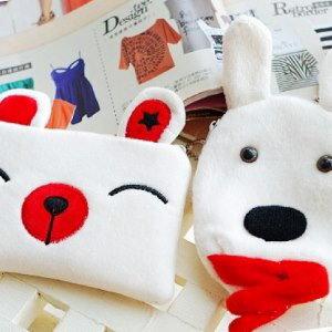 美麗大街【104012406】砂糖兔 小兔子 冰棒小物零錢收納包