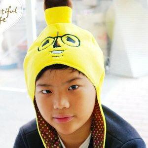 美麗大街【104013004】BANAO芭那夫香蕉先生系列造型冬季保暖帽