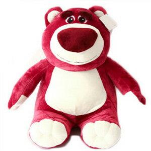 美麗大街【10306210601】12吋玩具總動員熊抱哥-紫色坐姿公仔玩偶