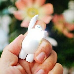 美麗大街【104040101】迪士尼大英雄天團杯麵LED燈發聲公仔鑰匙圈