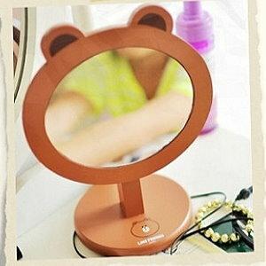 美麗大街【104041512】表情公仔 熊大 造型立鏡