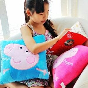 美麗大街【104051702】Peppa Pig可愛佩佩豬12吋抱枕靠枕(不挑款)