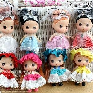 美麗大街【SM09】可愛時尚迷糊娃娃手機吊飾