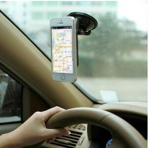 美麗大街【BF252E21】多功能車載手機導航支架汽車通用吸盤式手機座懶人手機架