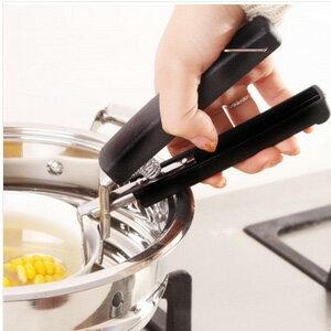 美麗大街【BF276E8E827】創意實用不銹鋼取碗夾多功能防燙夾盤子提碗器盆碗夾
