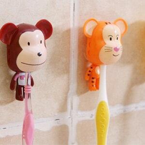 美麗大街【BFM08E4E17】可愛暴力熊吸盤牙刷架