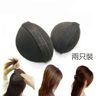 美麗大街【BFH04E4E18EK68】第三代公主海綿蓬髮器 增高盤髮器 蓬蓬貼 (2個入)