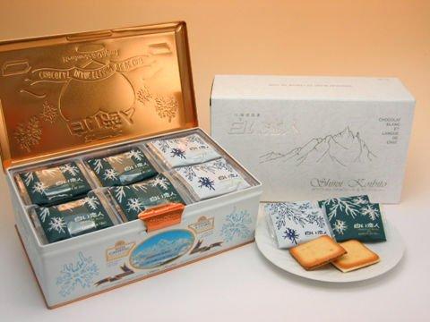 宅配免運【石屋製菓】北海道白色戀人白巧克力夾心貓舌餅乾 54枚入鐵盒裝~預購-約4 / 10左右出貨 1