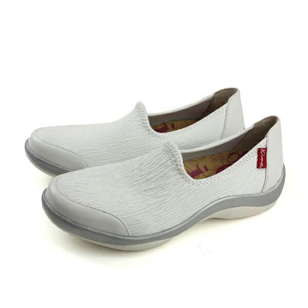 Kimo懶人鞋包鞋女鞋白色K18SF122020no736