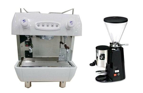 咖啡機租賃-KLUBR1單孔營業用咖啡機+磨豆機(每個月租購只要2600元)--【咖啡簡餐店適用的咖啡機】