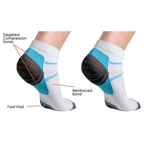Milano Unisex Compression Socks for Plantar Fasciitis 2